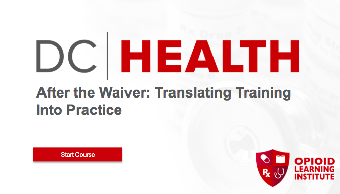 After the Waiver: Translating Training Into Practice, Advanced Topics in Buprenorphine