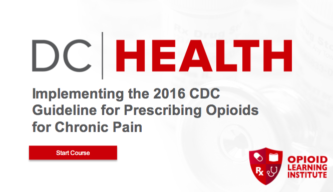 Implementing the 2016 CDC Guidelines for Prescribing Opioids for Chronic Pain