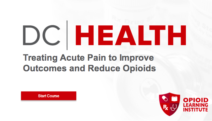 Treating Acute Pain to Improve Outcomes and Reduce Opioids