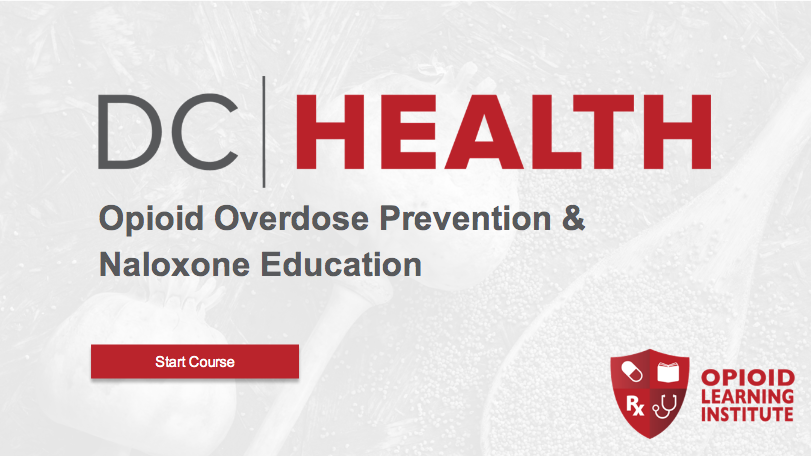 Opioid Overdose Prevention & Naloxone Education